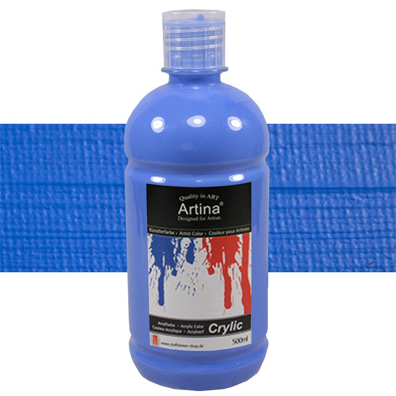 500 ml Acrylfarbe Malfarbe Künstlerfarbe Farbe Malen Acrylfarben ...
