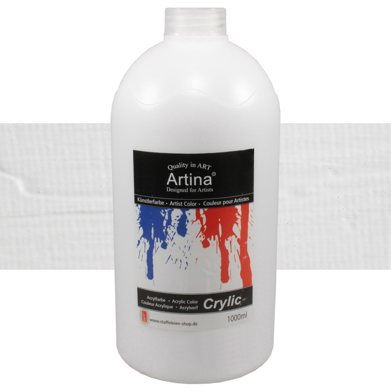 1000ml Acrylfarbe Malfarbe Künstlerfarbe Farbe Malen Acrylfarben Tube Künstler