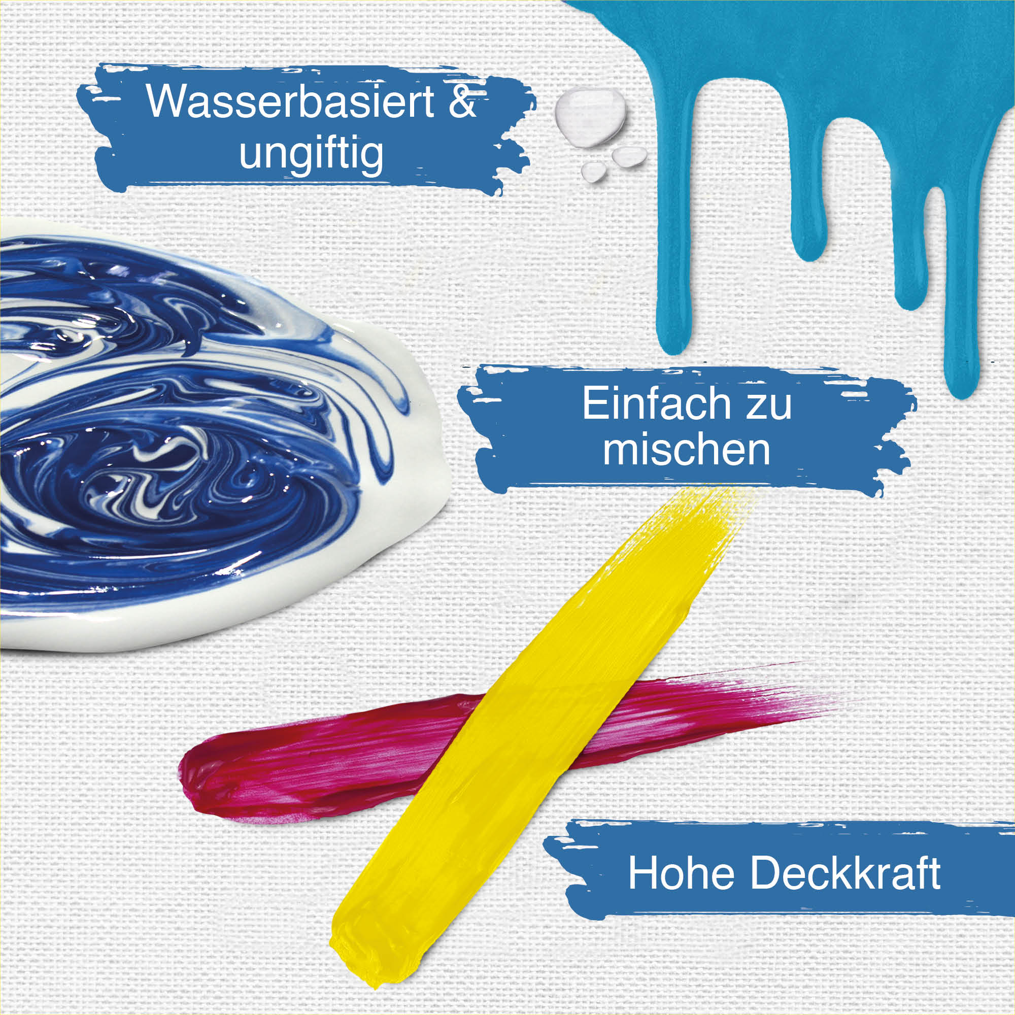 acrylfarben set mit 24 farben 120 ml malfarbe acrylfarbe k nstlerfarbe malen ebay. Black Bedroom Furniture Sets. Home Design Ideas